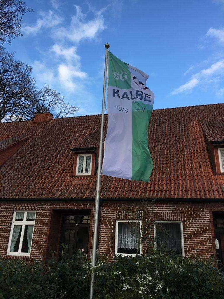 SG Kalbe neue Fahne
